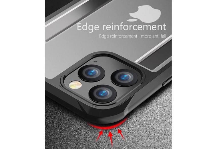 Các cạnh ốp lưng viền màu iPhone 11 Pro JRIS có đệm chống sốc hiệu quả