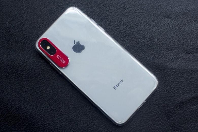 Ốp lưng TOTU iPhone X bảo vệ camera hinh anh op lung totu iphone x bao ve camera