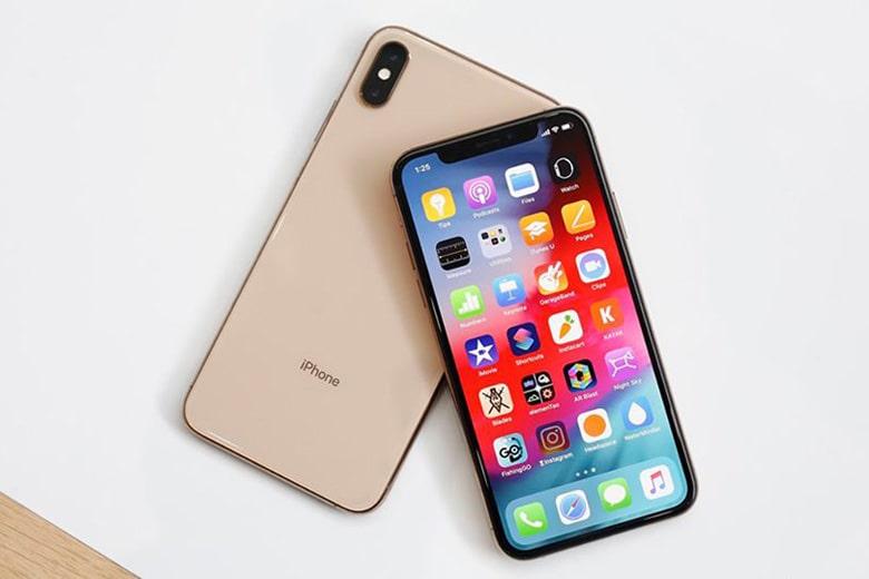 Điện thoại iPhone Xs cũ màu gold còn mới và đẹp