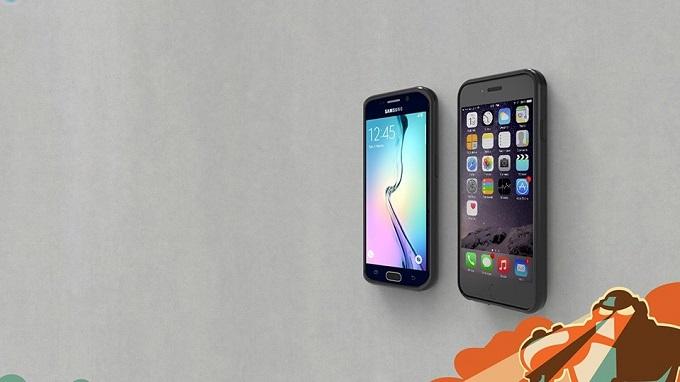 Ốp lưng Anti Gravity dính tường Samsung Galaxy S6 op anti gravity galaxy s6 viendidong