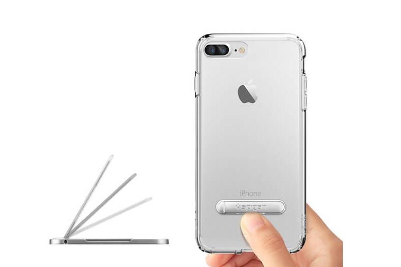 Ốp lưng iPhone 7 Plus | 8 Plus Spigen Crystal Hybrid op lung iphone 7 plus 8 plus spigen crystal hybrid