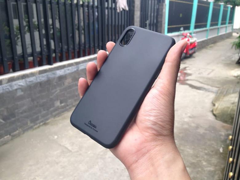 Ốp lưng dẻo iPhone X VU op lung iphone x chinh hang vu viendidong
