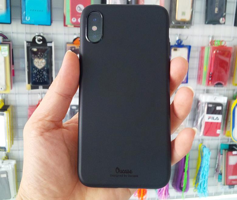 Ốp lưng dẻo iPhone X VU op lung iphone x vu viendidong