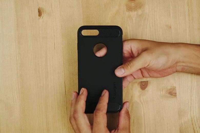 Ốp Lưng iPhone 7 Plus | 8 Plus Spigen Rugged Armor op lung iphone7 8 plus spigen viendidong