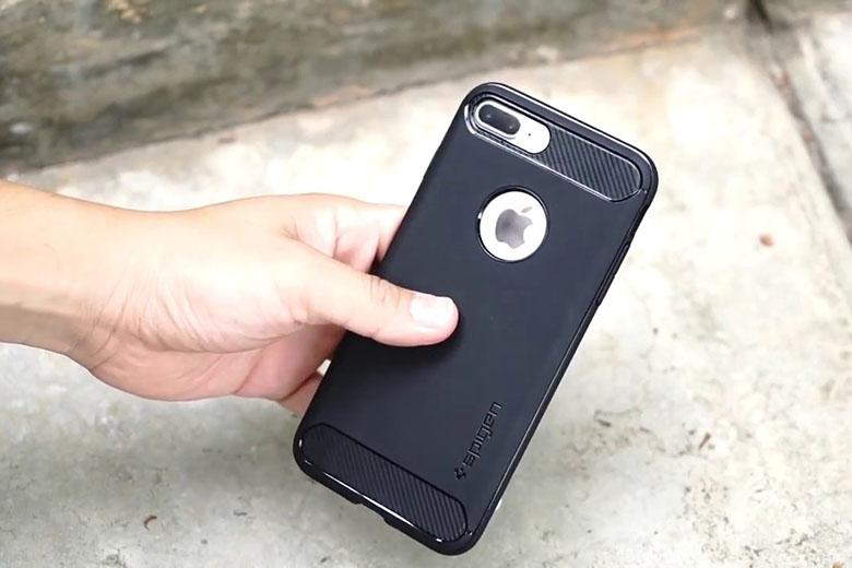 Ốp Lưng iPhone 7 Plus | 8 Plus Spigen Rugged Armor op lung iphone7 8 plus viendidong