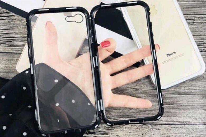 Thiết kế ốp lưng JRIS viền màu iPhone 7 Plus sang trọng