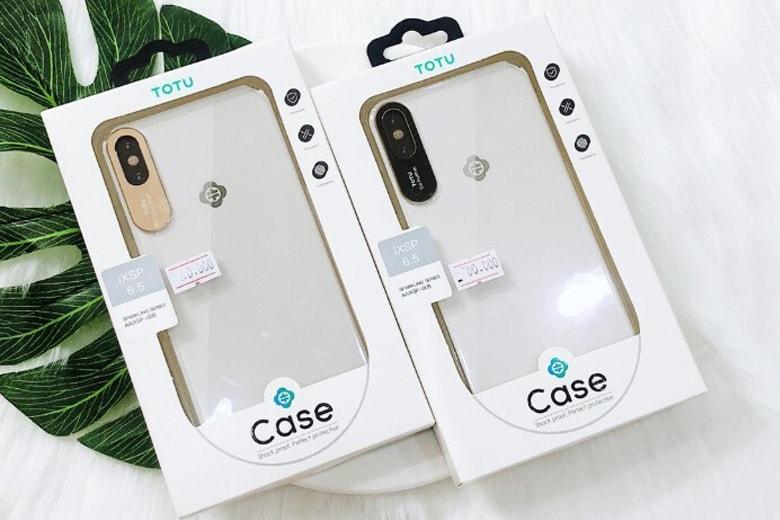 Ốp lưng TOTU iPhone X bảo vệ camera op lung totu iphone x bao ve camera 1