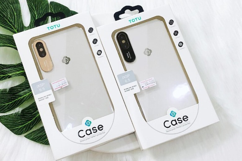 Ốp lưng TOTU iPhone X bảo vệ camera op lung totu iphone x bao ve camera 1