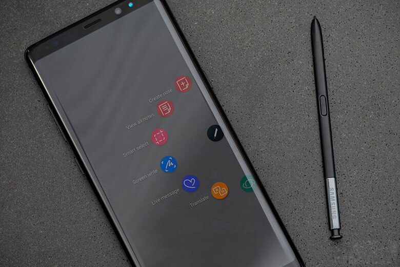 Samsung Galaxy Note 8 64GB Chính hãng (Bản Mỹ) (Like New) s pen samsung galaxy note 8 cu my like new viendidong