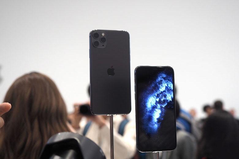 iPhone 11 Pro 64GB Chính hãng (VN/A) tren tay iPhone 11 Pro iphone 11 pro max viendidong