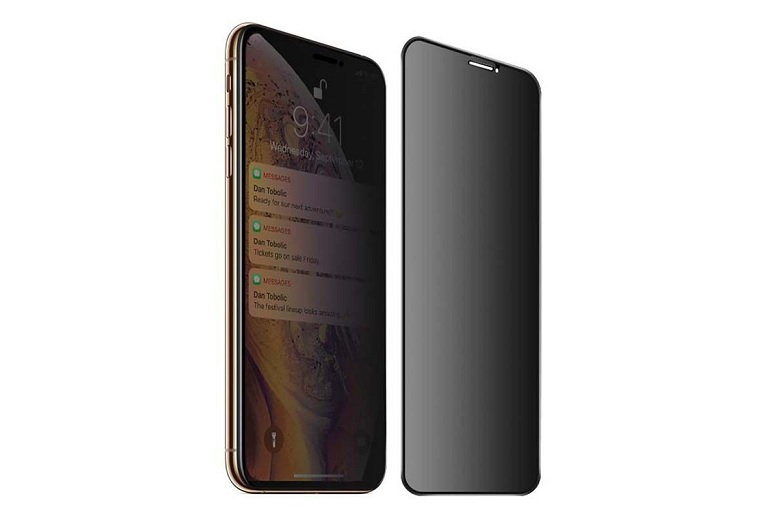 Miếng dán cường lực Mipow chất lượng dành cho iPhone X/Xs