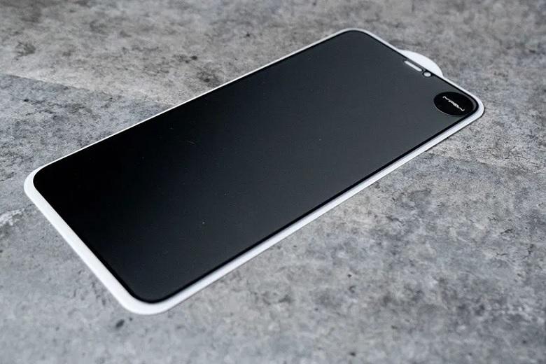 Kính cường lực chống nhìn trộm iPhone Xs Max Mipow Kingbull HD