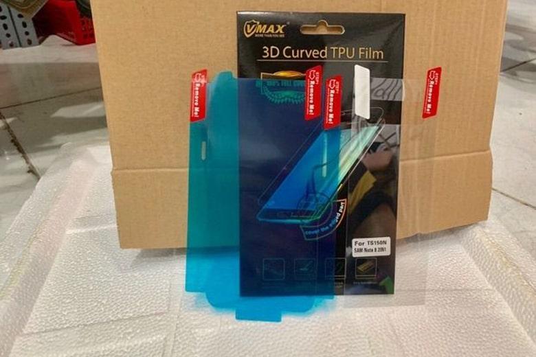 Miếng dán kính cường lực Samsung Galaxy S8 Plus FILM VMAX dẻo TPU siêu mỏng dan kinh cuong luc samsung galaxy s8 plus film vmax deo tpu sieu mong