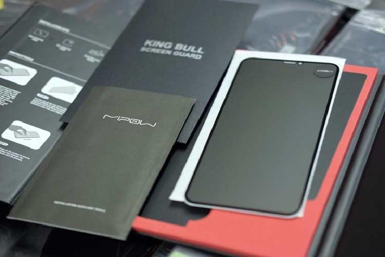 Miếng dán kính cường lực iPhone Xr Mipow Kingbull HD độ bền cao
