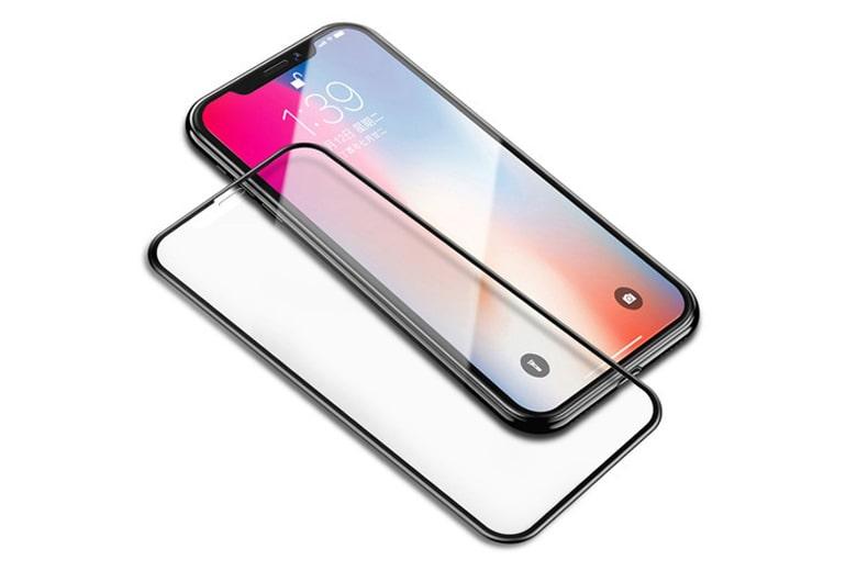 Miếng dán kính cường lực Full 9D iPhone Xs Max kinh cuong luc full 9d iphone xs