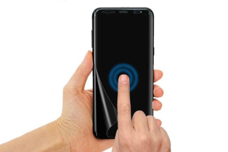 Miếng dán kính cường lực Samsung Galaxy S8 Plus FILM VMAX dẻo TPU siêu mỏng kinh cuong luc samsung galaxy s8 plus film vmax deo tpu sieu mong