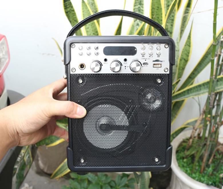 Loa kéo Bluetooth Vaensong K1H kèm micro và điều khiển loa keo bluetooth vaensong k1h den viendidong