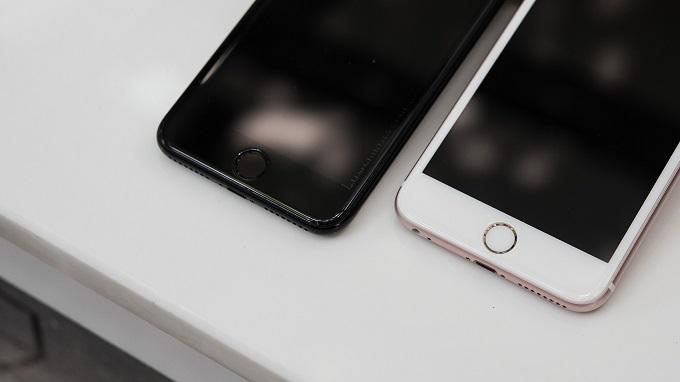 Miếng dán kính cường lực iPhone 7 Plus mieng dan cuong luc iphone 7 plus 1