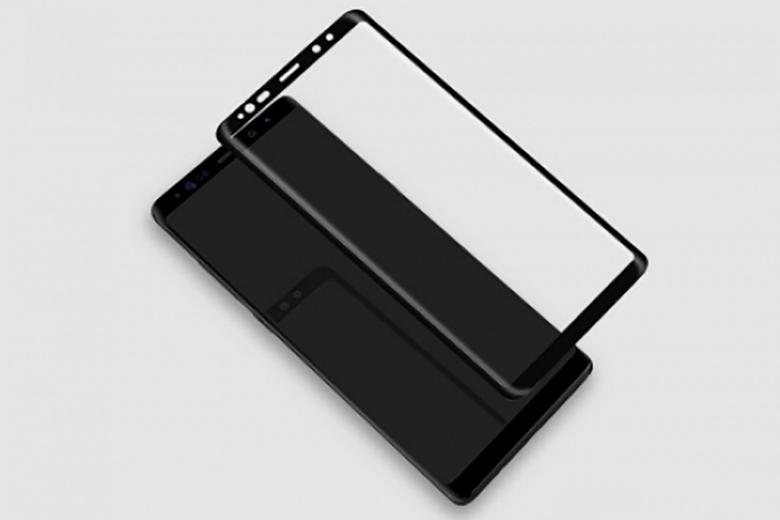 Miếng dán kính cường lực Nillkin CP+Max Samsung Galaxy Note 8 mieng dan kinh cuong luc full samsung note 8 hieu nillkin cp viendidong