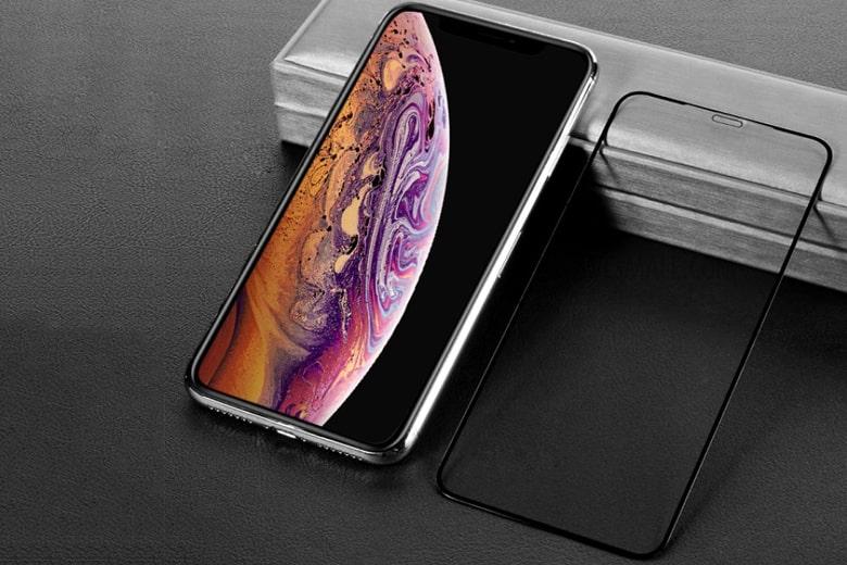 Miếng dán kính cường lực IPEARL iPhone Xs Max mieng dan kinh cuong luc ipearl iphone xs max 1