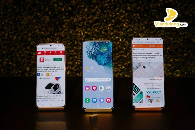 Cận cảnh bộ ba siêu phẩm Samsung Galaxy S20/S20+ và S20 Ultra