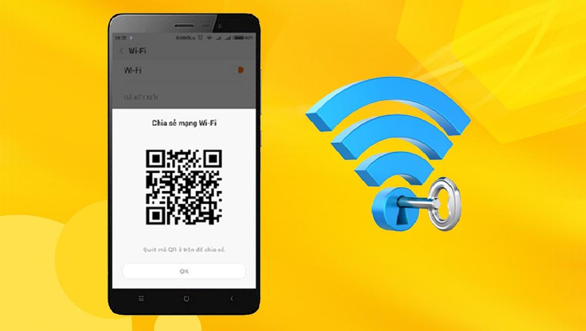 Chia sẻ mạng WiFi bằng mã QR với Android 10 cực dễ với cách sau