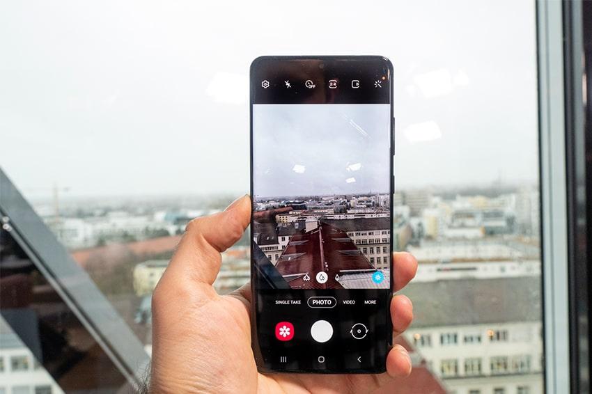 Galaxy S20 Ultra có khả năng zoom đến 100x