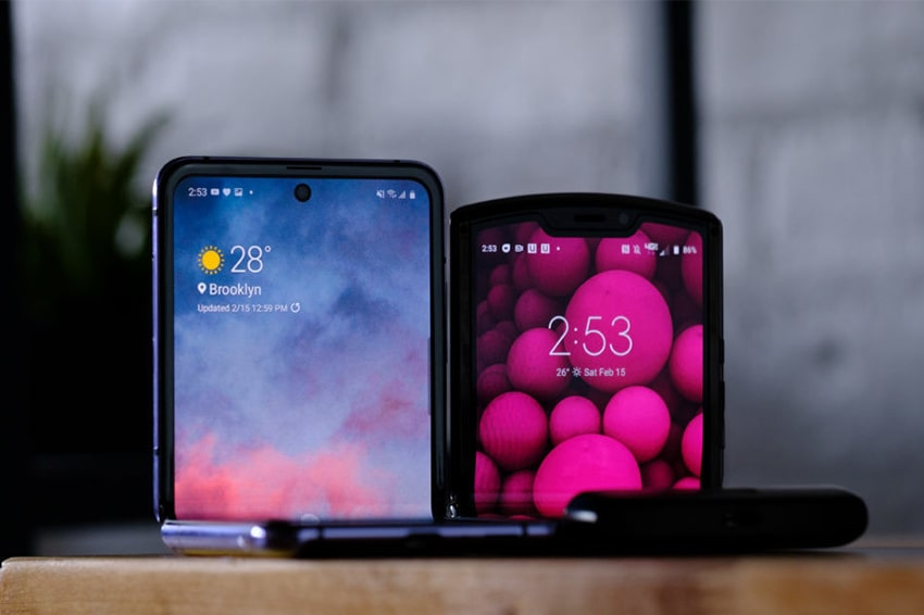 Galaxy Z Flip đã khắc phục được những điểm yếu trên Motorolar Razr