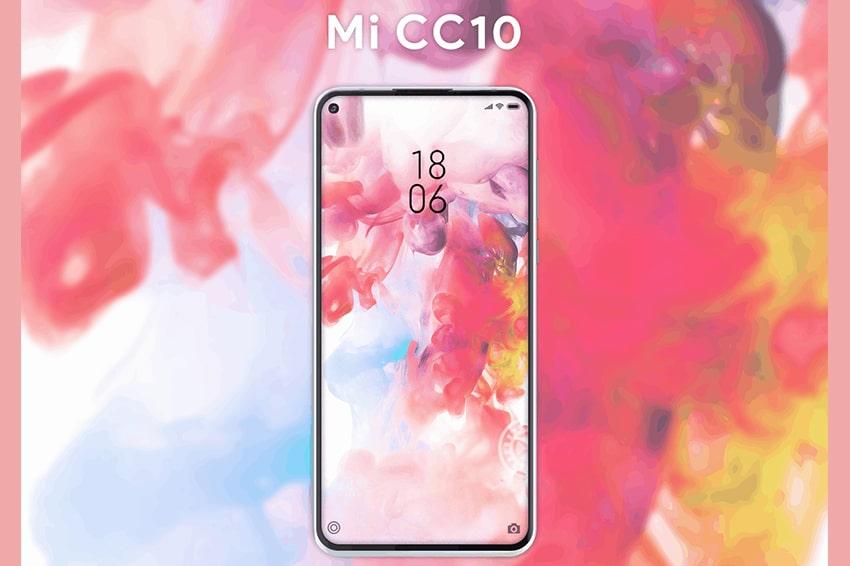 Xiaomi Mi 10 Lite (Mi CC10) lộ diện hình ảnh render cực độc