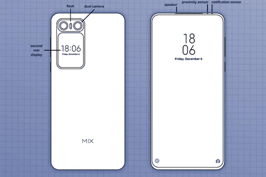 Xiaomi Mi MIX 2020 thiết kế màn hình 100% cực kỳ độc đáo, không camera selfie