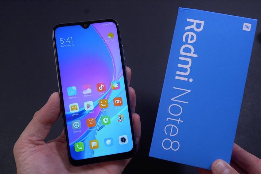 Xiaomi Redmi Note 8 4GB|64GB Chính Hãng - DGW Xiaomi redmi note 8 pin viendidong