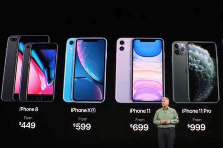 Bảng giá hiện tại của Apple khiến iPhone 9 Plus không có chỗ đứng