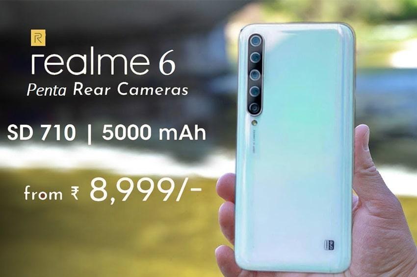 Cụm 4 camera trên Realme 6
