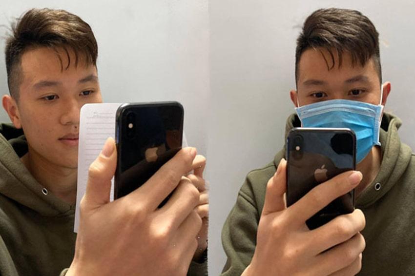 Giờ đây mở khoá Face ID rất dễ dàng ngay cả khi mang khẩu trang