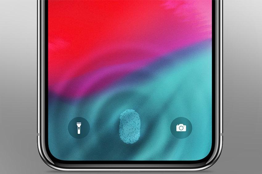 Hé lộ hình ảnh Touch ID trên iPhone 12