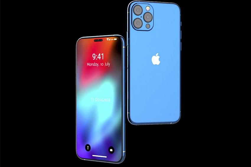 Phone 12 thiết kế viền bezel 4 cạnh siêu mỏng đẹp hút hồn
