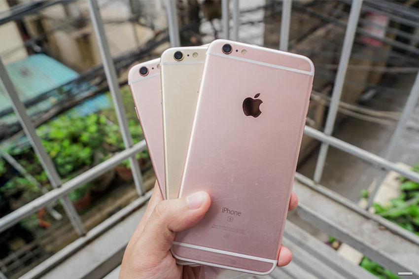 iPhone 6S Plus 64GB Cũ Chính Hãng iPhone 6s plus chinh.hang quoc te like new hieu nang viendidong