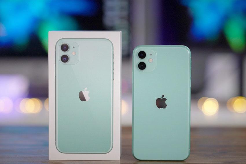 iPhone 11 64GB Chính Hãng Quốc Tế (Like New) iphone 11 64gb chinh hang likenew xanh viendidong