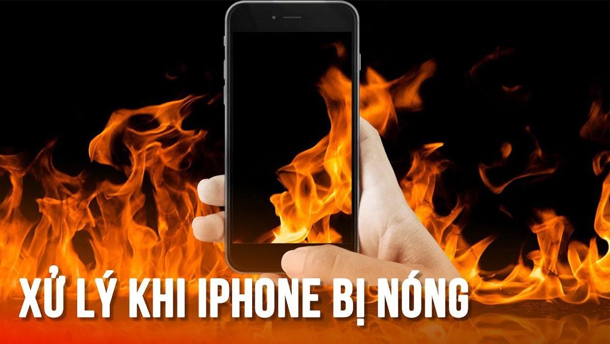 Nguyên nhân và cách khắc phục iPhone bị nóng và nhanh hết pin