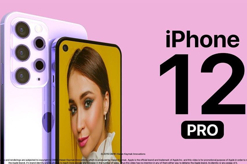 Màu tím trẻ trung của iPhone 12 Pro rất thích hợp với những cô gái lãng mạn