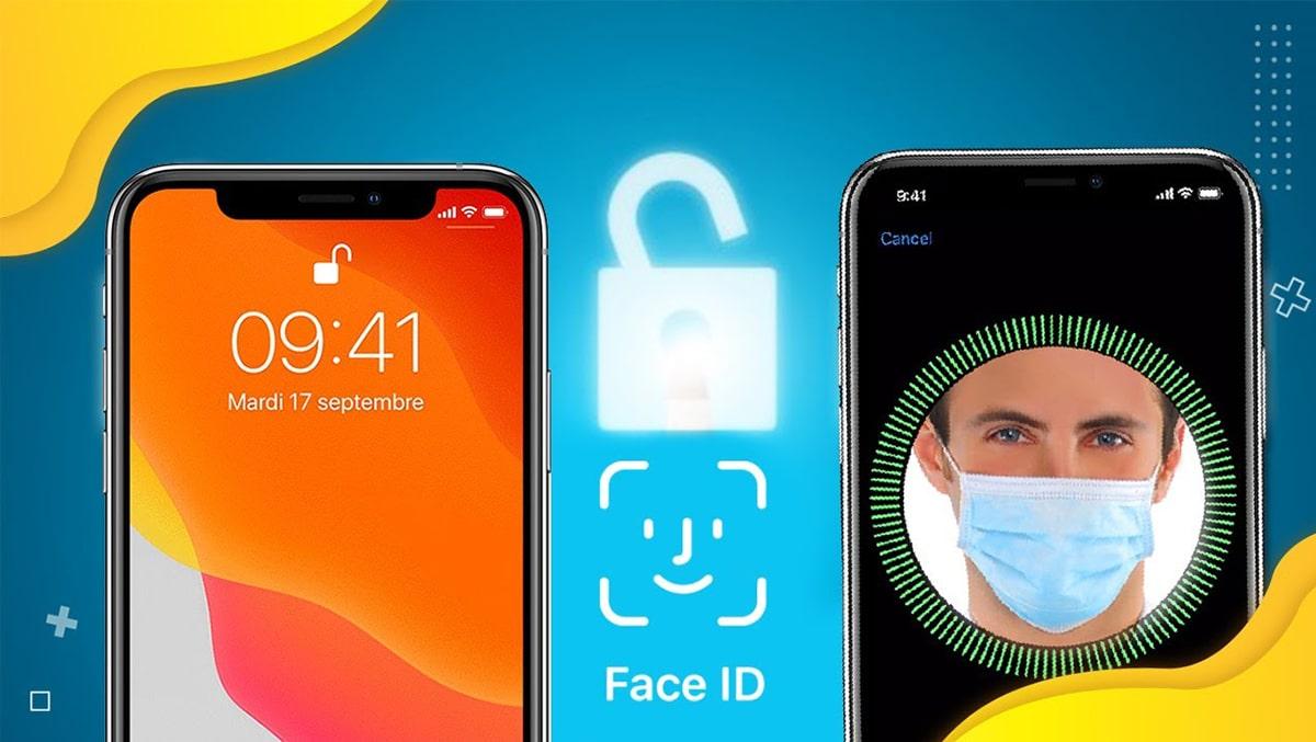 Mở khoá Face ID cực dễ dàng khi đeo khẩu trang