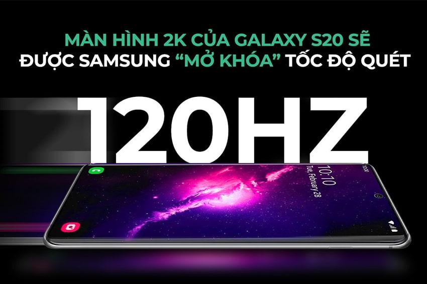 Mong chờ Samsung sẽ mở tốc độ quét trên Galaxy S20