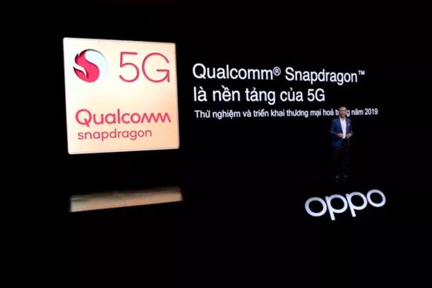 Nền tảng 5G trong Find X2 được cung cấp bởi Qualcomm, tích hợp trong chip Snapdragon