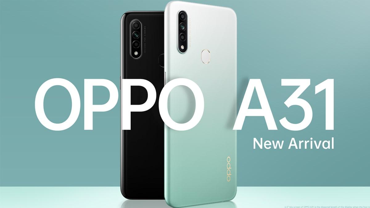 OPPO A31 lộ diện với thiết kế tân thời cùng camera macro bắt 'trend'
