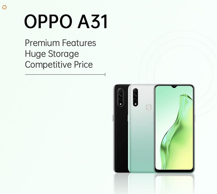 OPPO A31 lộ diện với thiết kế tân thời cùng camera macro bắt trend