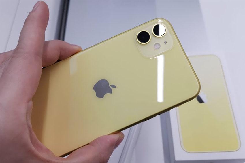 iPhone 11 64GB Cũ Chính Hãng phone 11 64gb likenew mau vang viendidong