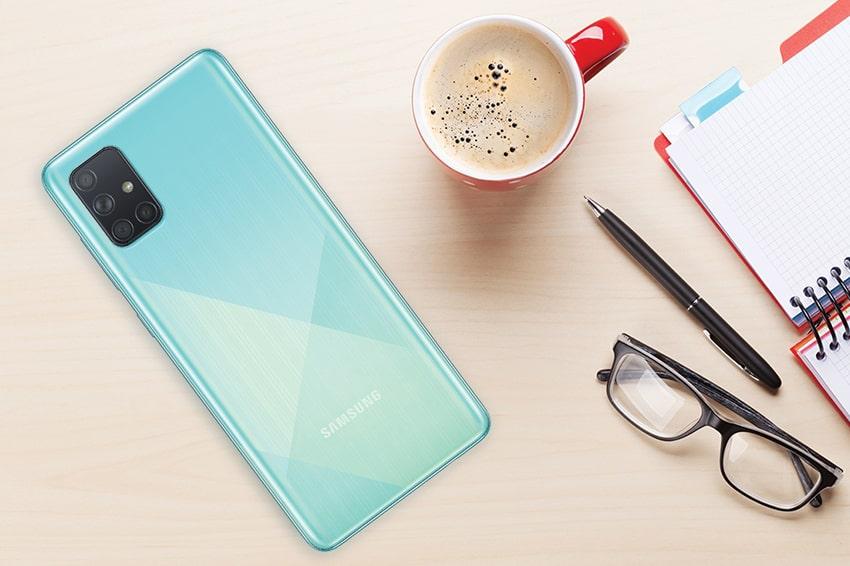 Samsung Galaxy A71 (8GB 128GB) Chính Hãng samsung galaxy a71 gia ban viendidong