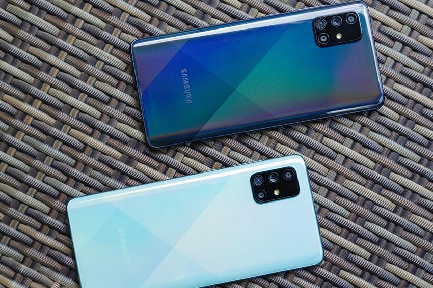 Samsung Galaxy A71 (8GB 128GB) Chính Hãng samsung galaxy a71 thiet ke viendidong