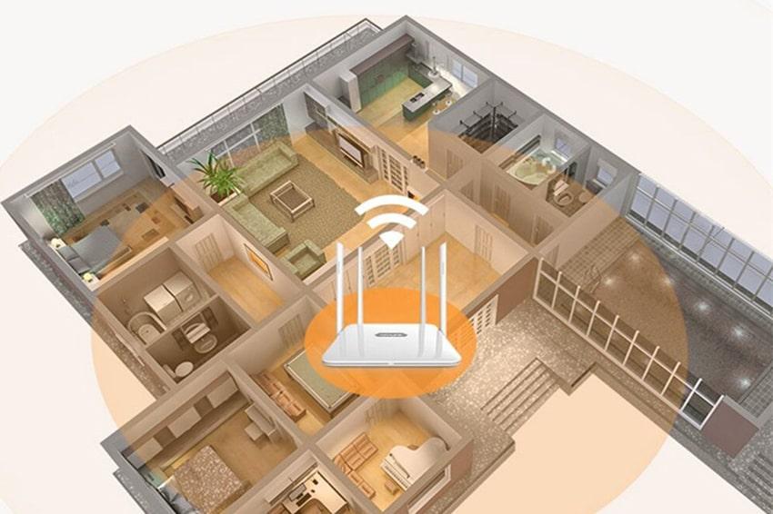 Thay đổi vị trí đặt cục Wifi cũng là một cách để tăng tốc độ mạng