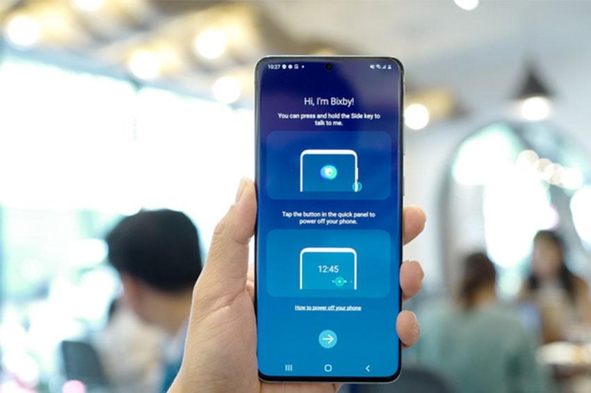 Với Galaxy S20, khi tắt tính năng Bixby thì phím nguồn sẽ trở về chức năng ban đầu
